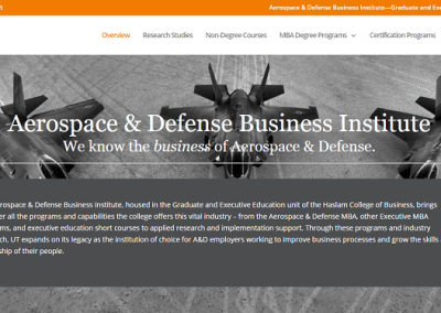 Aerospace & Defense Business Institute- University of Tennessee