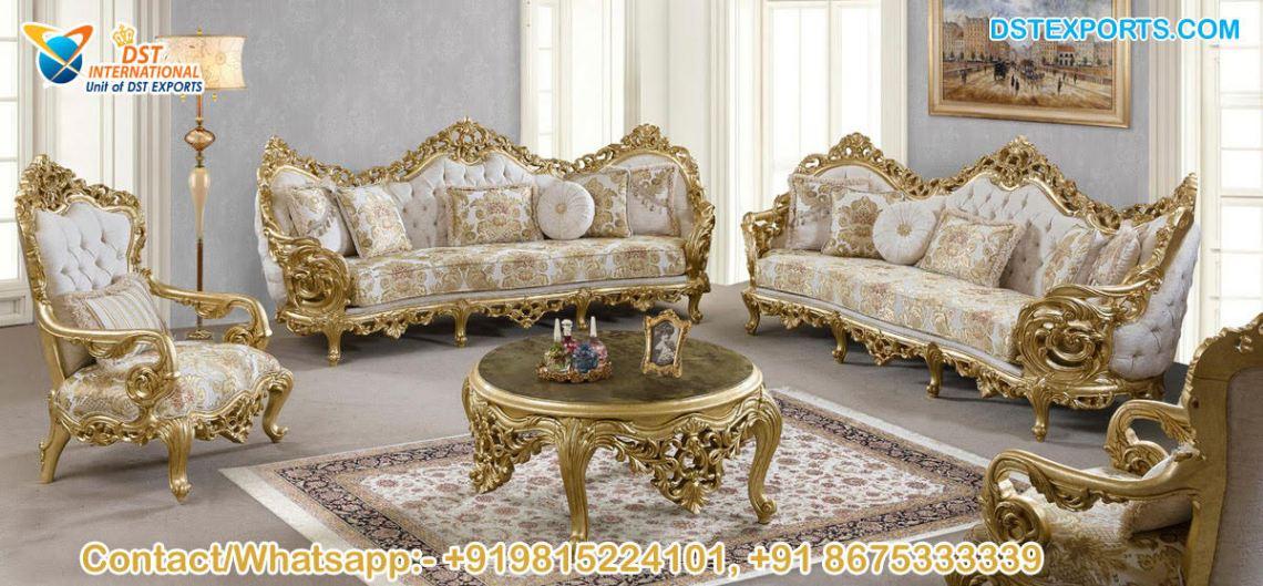 Italian Living Room Classic Sofa Set Dst International