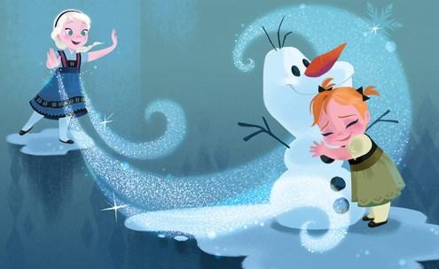 《アナと雪の女王》より 2013年 © Disney Enterprises, Inc.