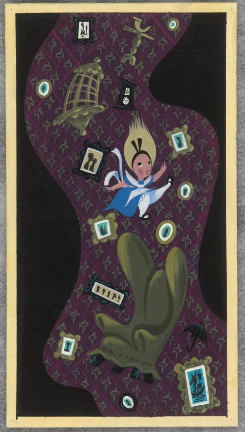 《ふしぎの国のアリス》より 1951年 © Disney Enterprises, Inc.