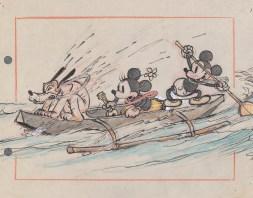 《ミッキーのハワイ旅行》より 1937年 © Disney Enterprises, Inc.
