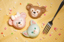 Duffy, ShellieMay and Gelatoni-themed panna cotta ©Disney