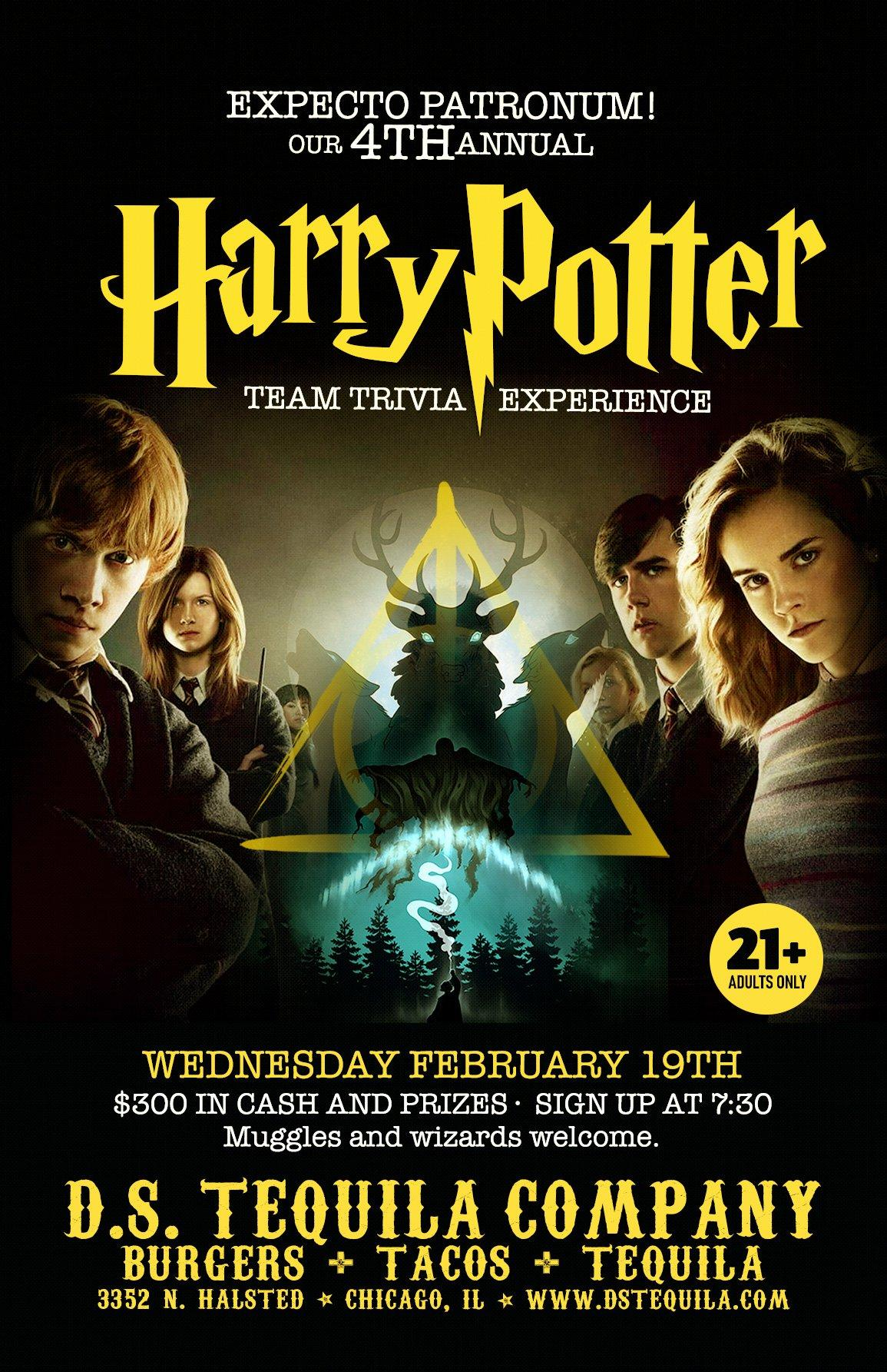 Expecto Patronum Our Annual Harry Potter Trivia Night D