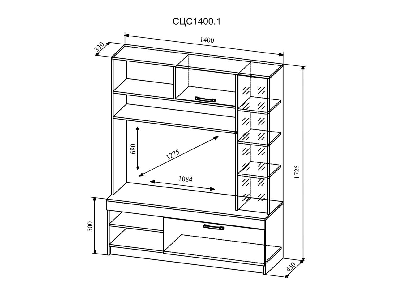 Модуль «Софи» СЦС 1400.1