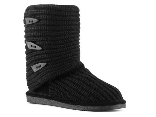 Bearpaw Knit Tall Boot Women' Shoes Dsw