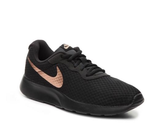 Womens Black Slip On Sneakers