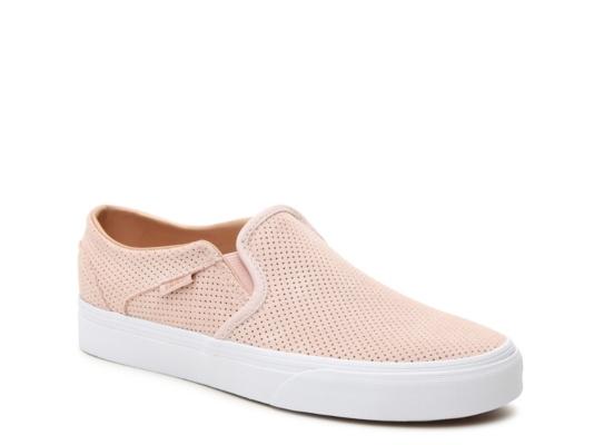 Vans Asher Perforated Slip On Sneaker Women39s Women39s