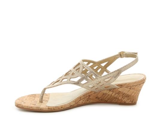 Kelly & Katie Analissa Wedge Sandal Women' Shoes Dsw