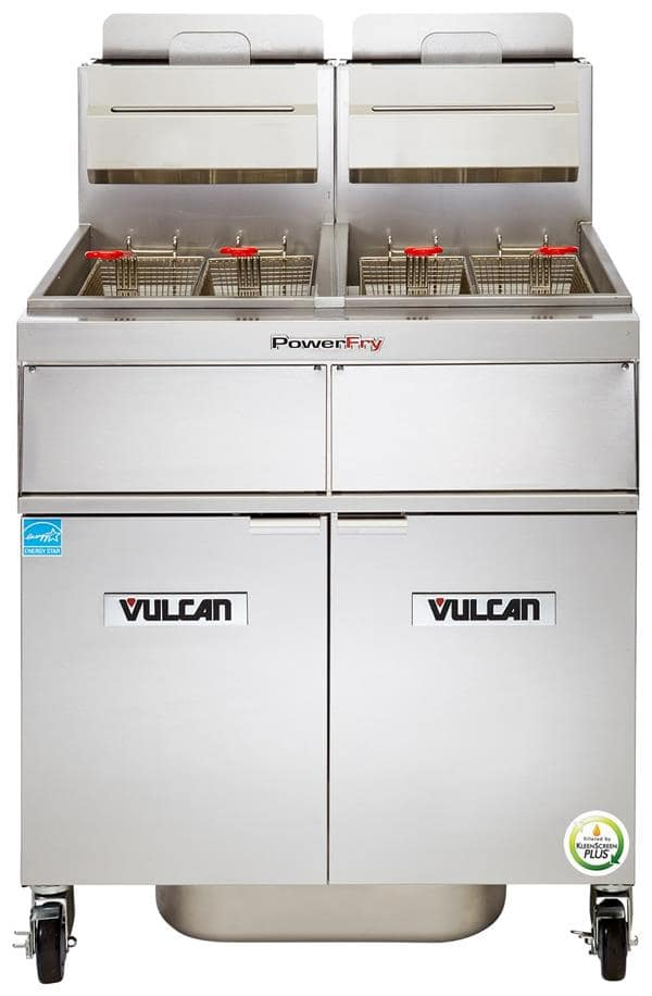 vulcan kitchen equipment white distressed table 3tr45cf powerfry3 fryer ckitchen com