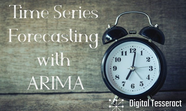 Time Series Forecasting with ARIMA