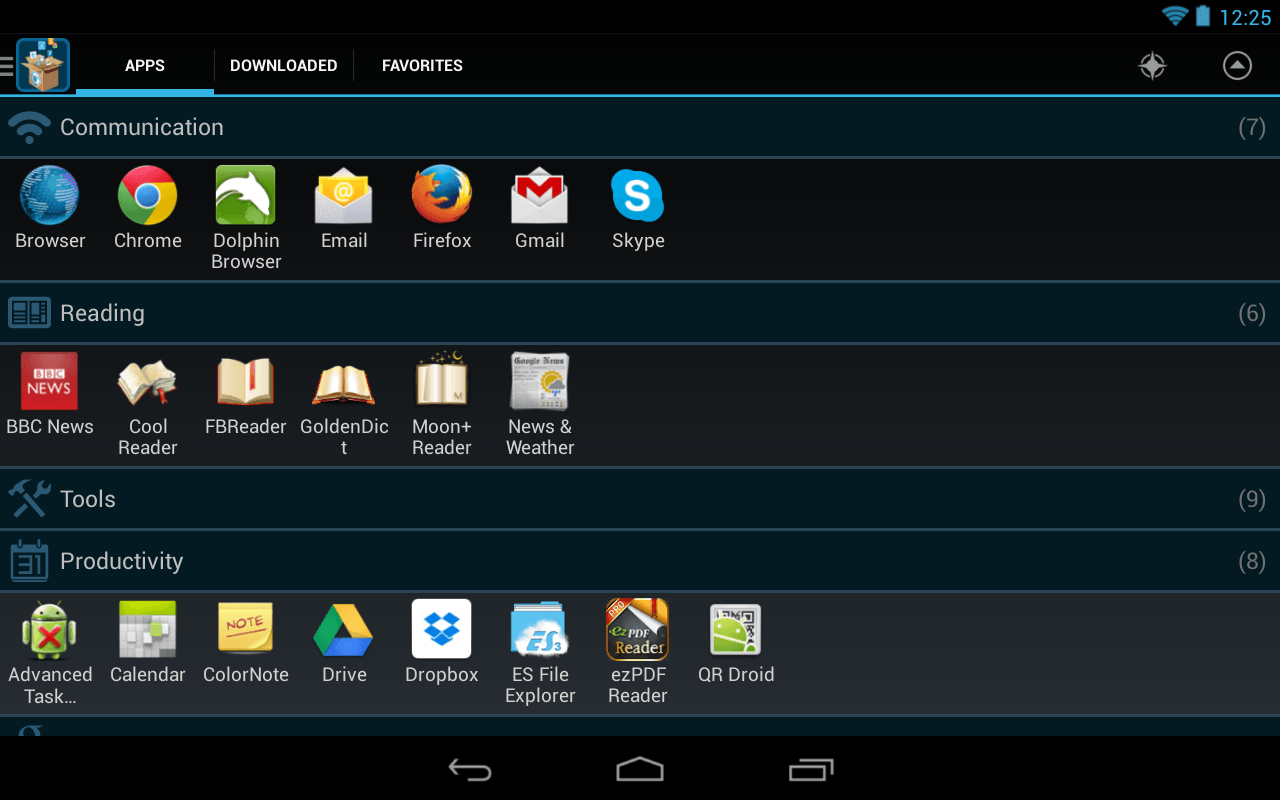 Android Better Organize And Manage Apps With Glextor App