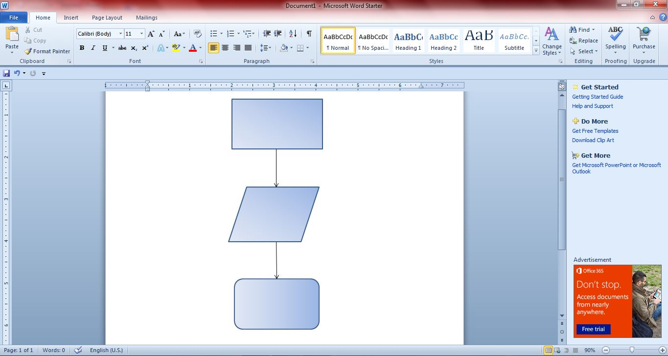 Flowchart also how to create flowcharts with microsoft word and guide rh dottech