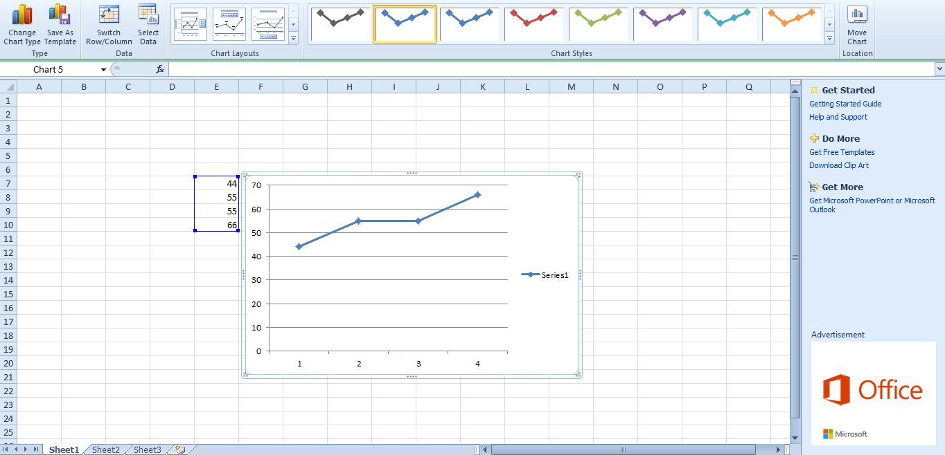 Excel gridlines also how to add graphs tip dottech rh