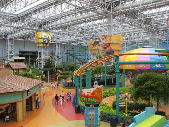 Nickelodeon Universe at the Mall of America Minneapolis sports travel