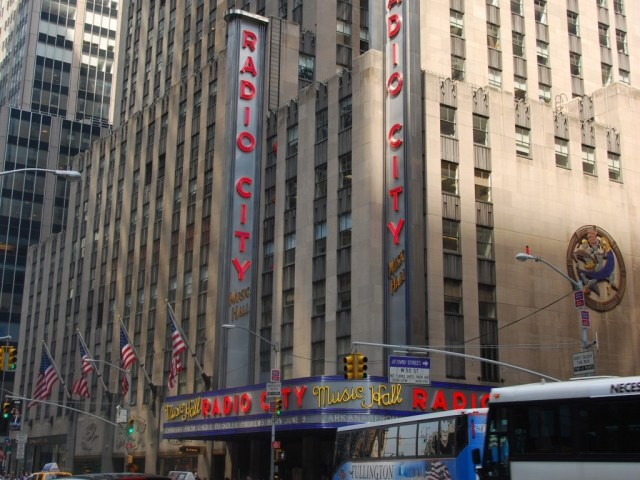 Radio City Music Hall New York sports travel