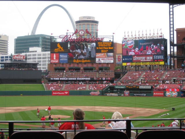 Busch Stadium St. Louis sports travel