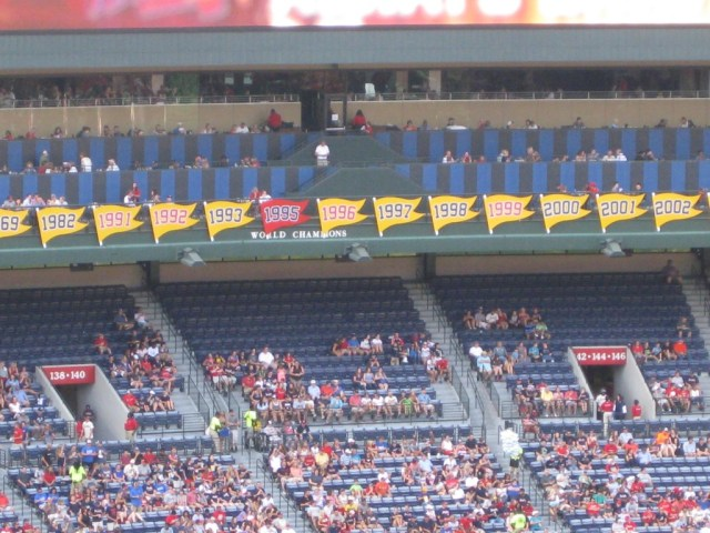 Turner Field pennants