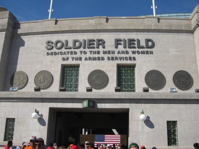 Soldier Field Chicago Bears stadium events parking seating hotels