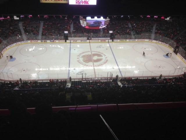 Scotiabank Saddledome rink