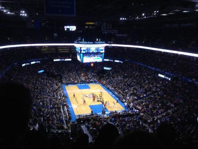 Chesapeake Energy Arena bowl