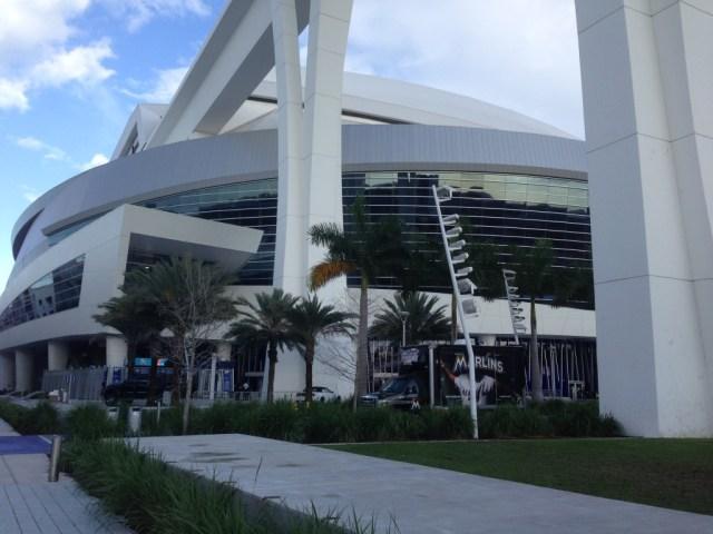 Marlins Park Miami Marlins