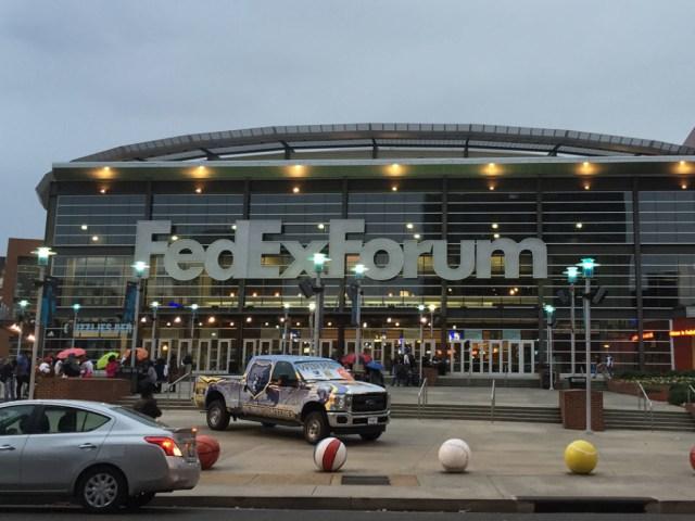 FedExForum entrance