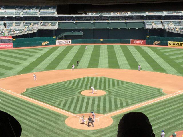 RingCentral Coliseum Oakland Athletics ballpark events seating parking