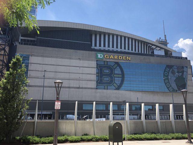 TD Garden Boston Bruins Celtics