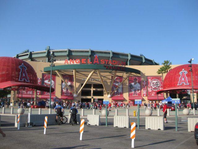 Angel Stadium of Anaheim seating chart events parking