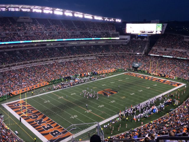 Paul Brown Stadium events tickets parking hotels seating food