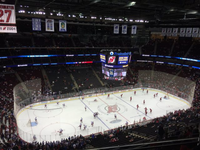 Prudential Center New Jersey Devils