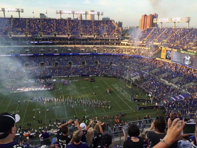 M&T Bank Stadium Baltimore sports travel