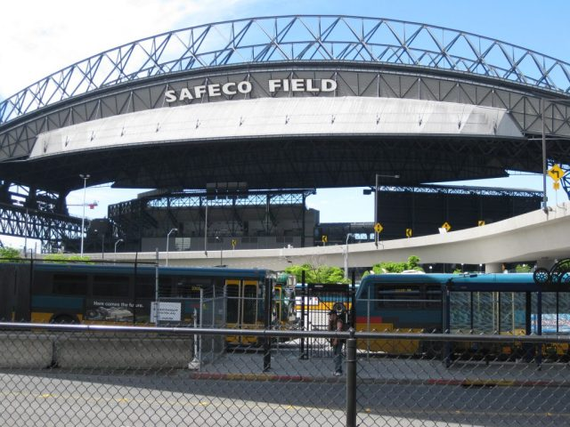 Safeco Field baseball road trip