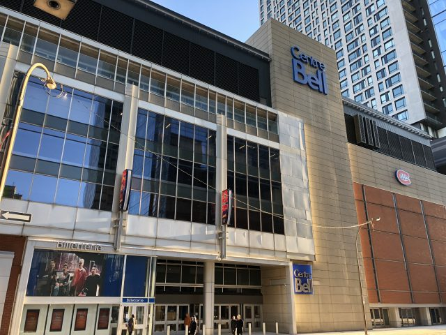 Bell Centre Montreal sports travel
