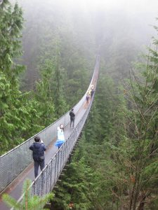 Capilano Suspension Bridge Vancouver sports travel