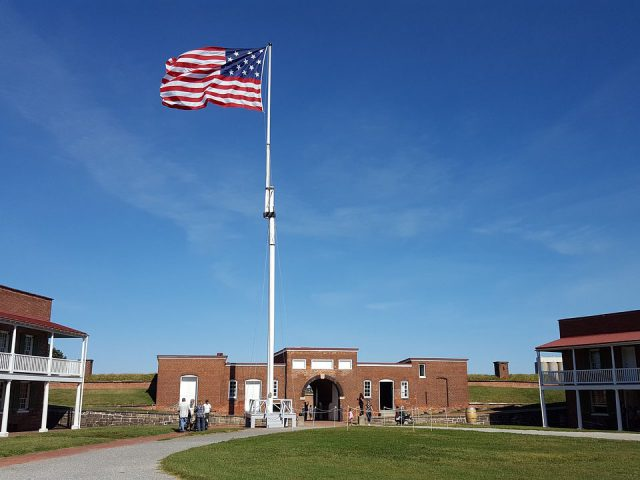 Fort McHenry Baltimore sports travel