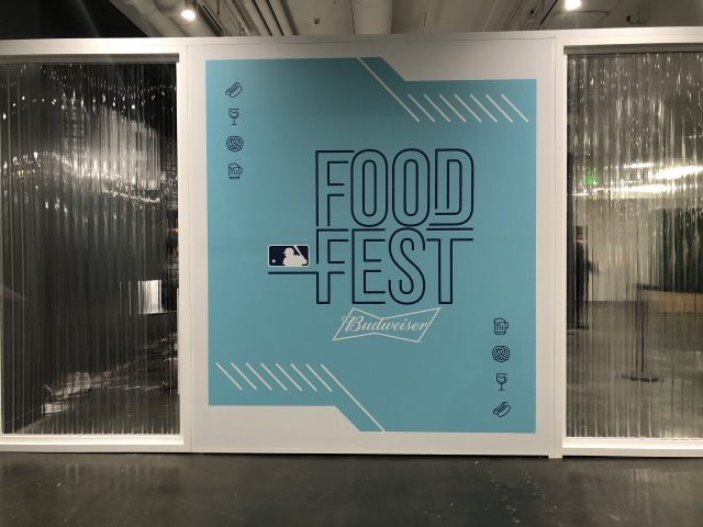 MLB FoodFest entrance