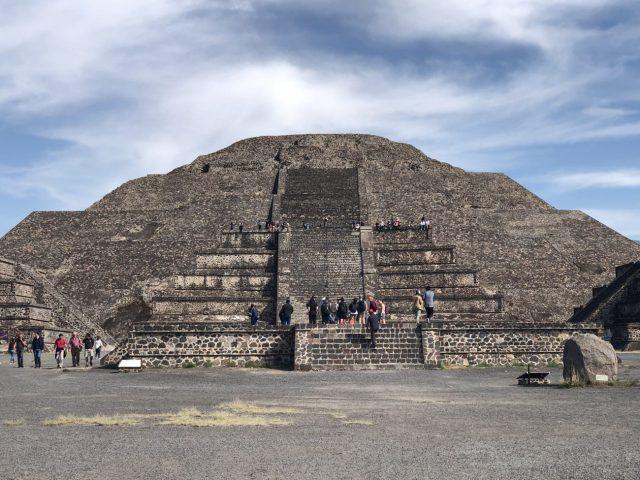 Teotihuacan pyramids near Mexico City