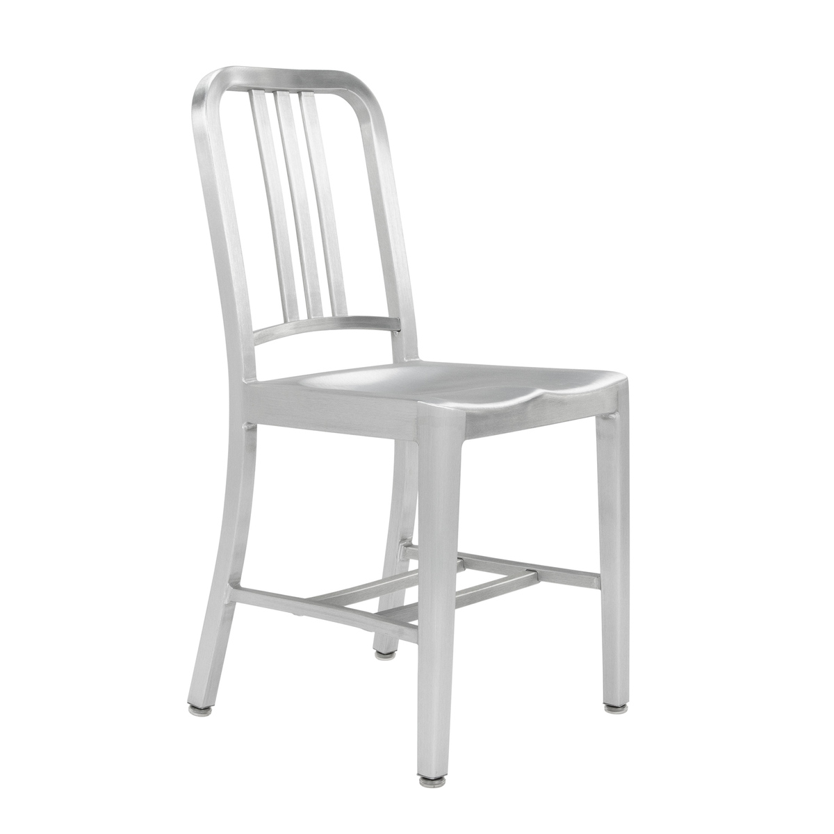 brushed aluminum chairs windsor rocking chair navy