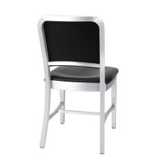 Navy Chair Stool Posture Sensor Upholstered