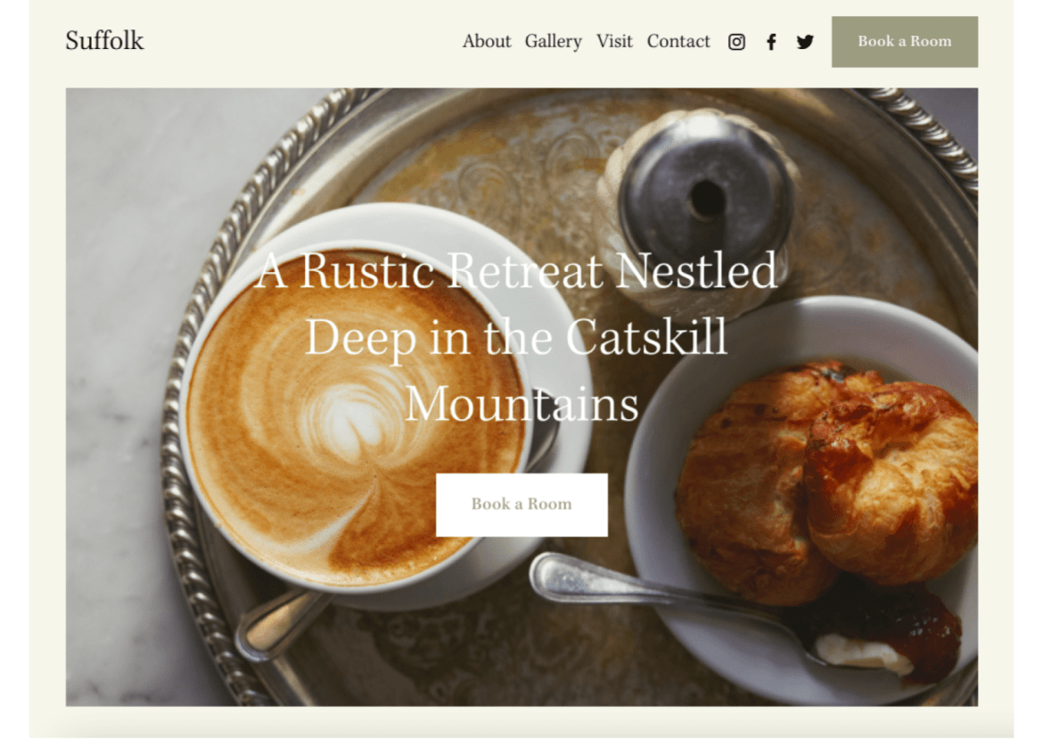 7 Best Squarespace Templates for Hotels - Madeleine