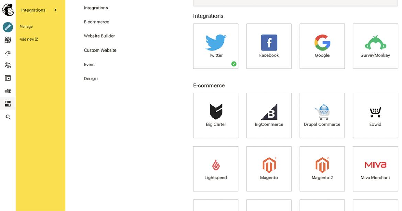 mailchimp-app-integrations