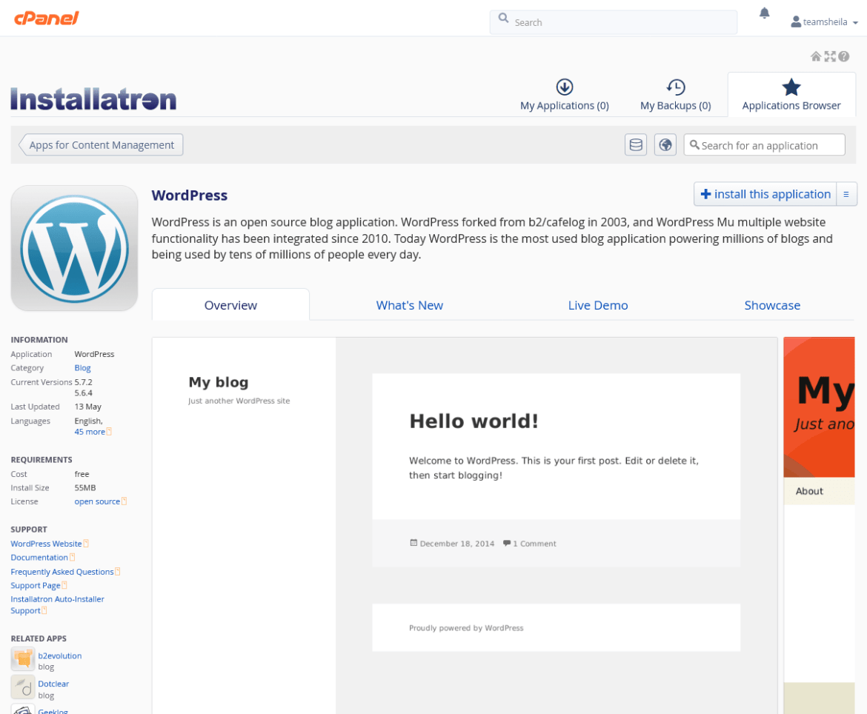 the-Installatron-app-installer
