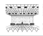 LISCA Speaker System. Concealed line array delivers