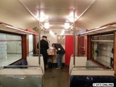 Auch diese Fahrzeuge waren Einrichtungswagen, da sie umgebaute T-Wagen sind.