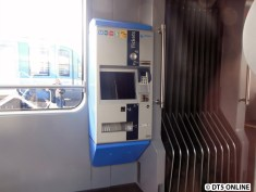 Fahrkartenautomat in der Tram