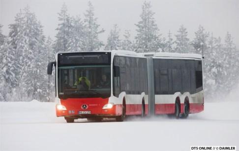 Klimatests in Skandinavien