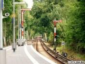 In Sülldorf gibt es noch Formsignale