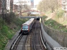 330 vor Feldstraße (U3 Wandsbek-Gartenstadt)