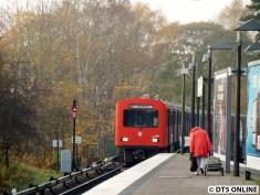 Beide DT2-Fahrten (bis zum Winterfahrplan 14/15 noch drei) enden in Ohlsdorf
